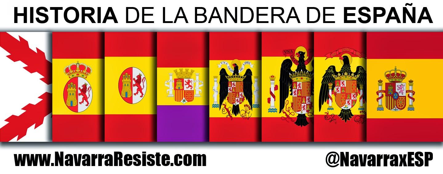 Historia de la bandera de espana del aguila