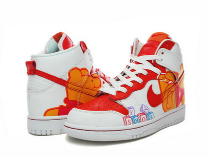 c067209bb607 Nike Dunks Custom Design Sneakers   Disney Nike Dunks Winnie the ...