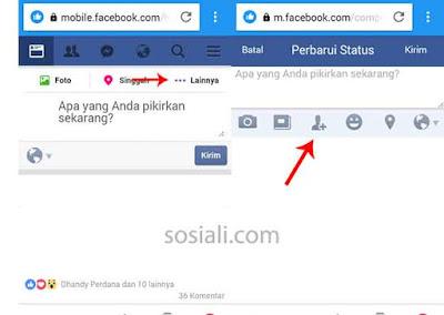 Cara Menyebut Nama Teman Di Komentar dan Status Facebook
