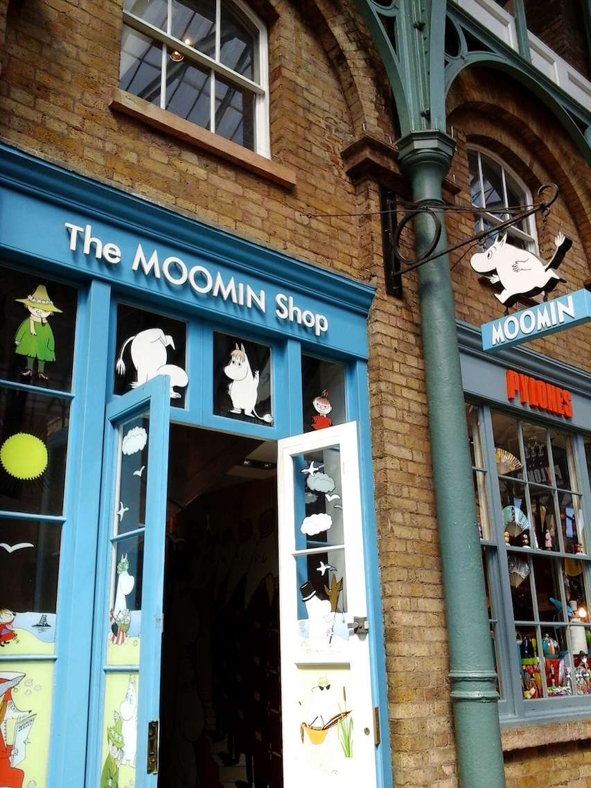 Lunch Latte The Moomin Shop Covent Garden London
