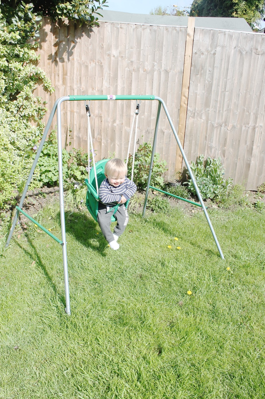 Baby Swing Toddler 2 In 1 Outdoor Toys