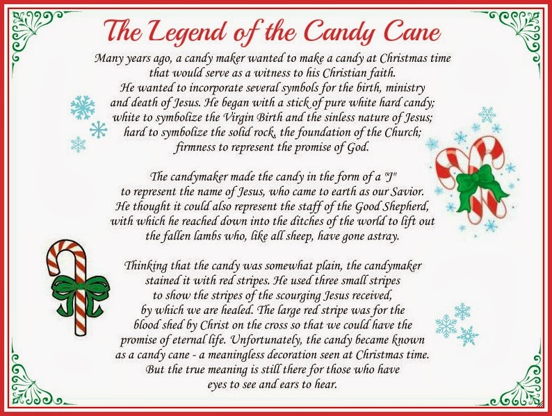 Karen's Korner: Did You Know The Legend of the Candy Cane?