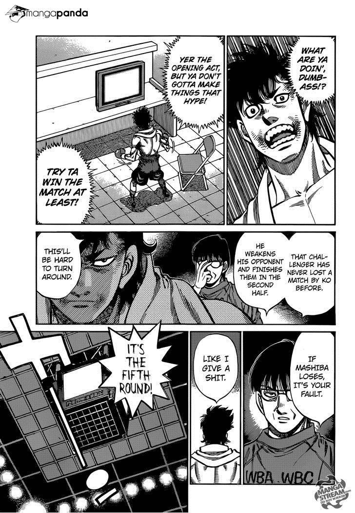 Hajime no Ippo - Chapter 1084