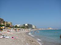 Rhodes Elli beach