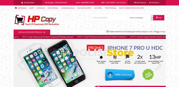 Hp Copy - Verifikasi Toko Online Aman dan Terpercaya - Polisi Store