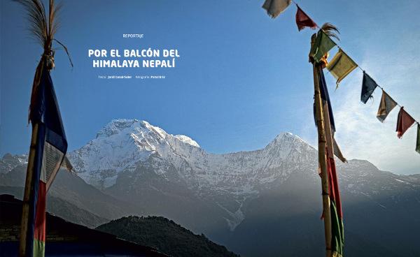 POR EL BALCÓN DEL HIMALAYA NEPALÍ