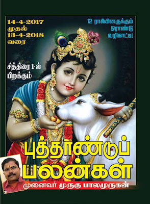 Tamil Puthandu Raasipalan