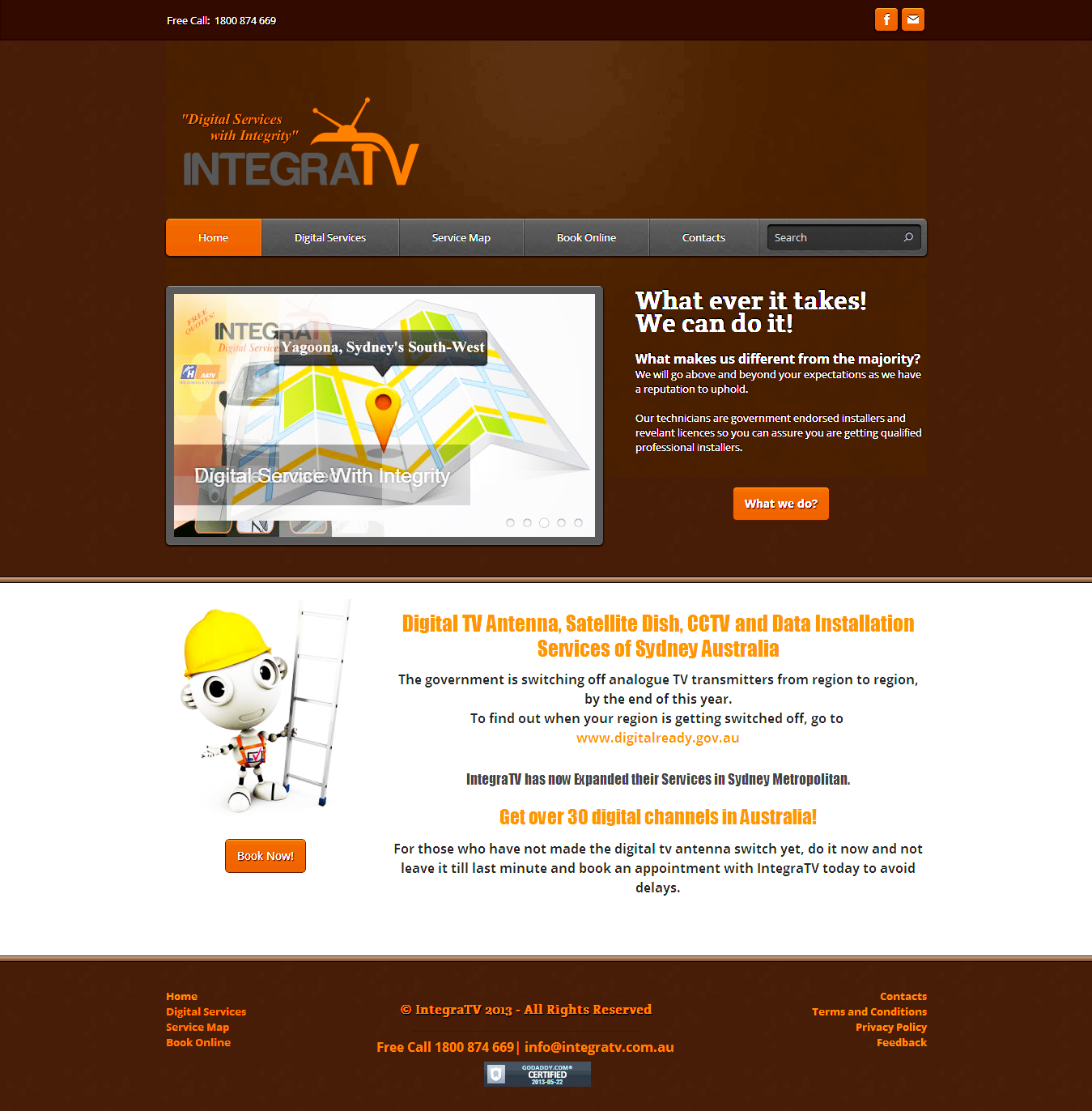 IntegraTV AU Web development on Weebly