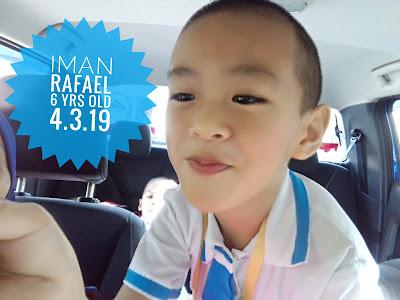 Iman Rafael turns 6 yrs old || 4.03.2019
