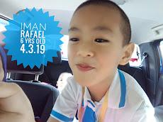 Iman Rafael turns 6 yrs old    4.03.2019