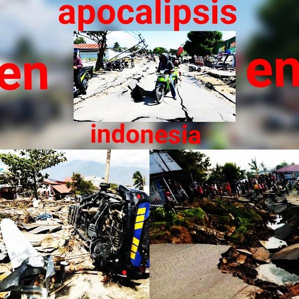 ( FOTOS ) Indonesia Esta Viviendo El Apocalipsis.