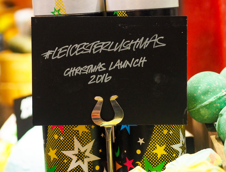 #LeicesterLushmas Halloween & Christmas Preview