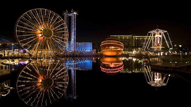 Noite em Anaheim
