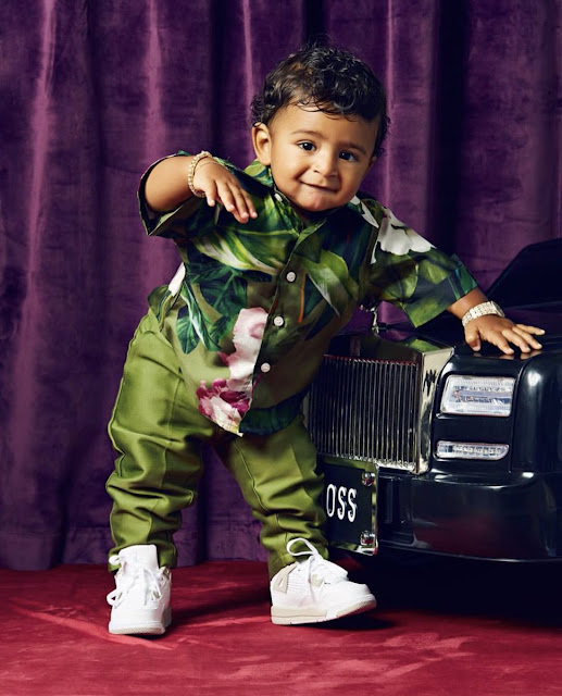 DJ Khaled's Son, Asahd Covers Paper Magazine (Photos)
