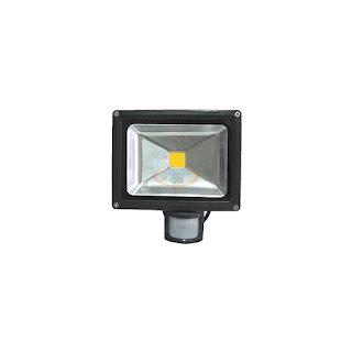 10W LED感應式投光燈,LED探照燈