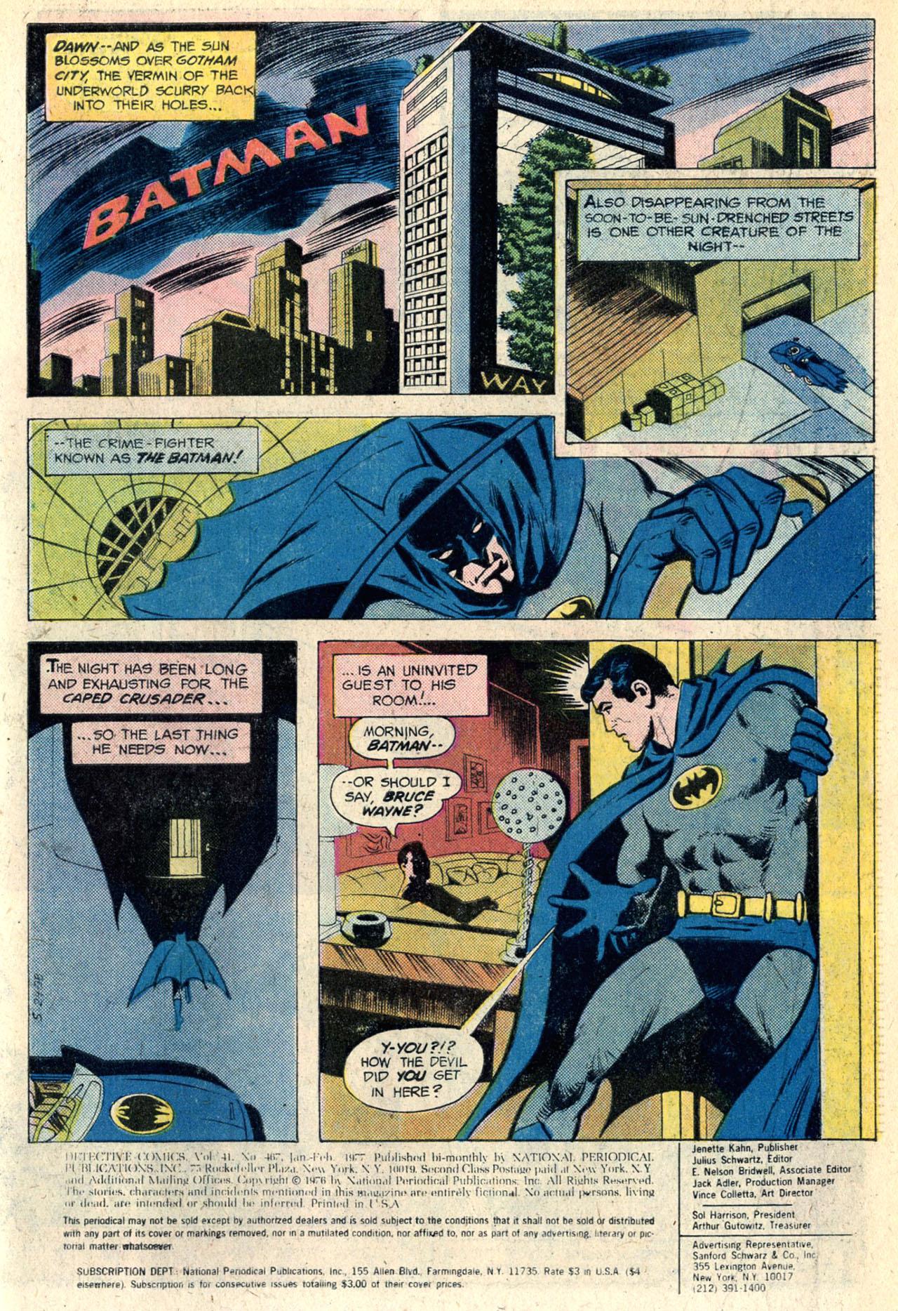 Detective Comics (1937) 467 Page 2
