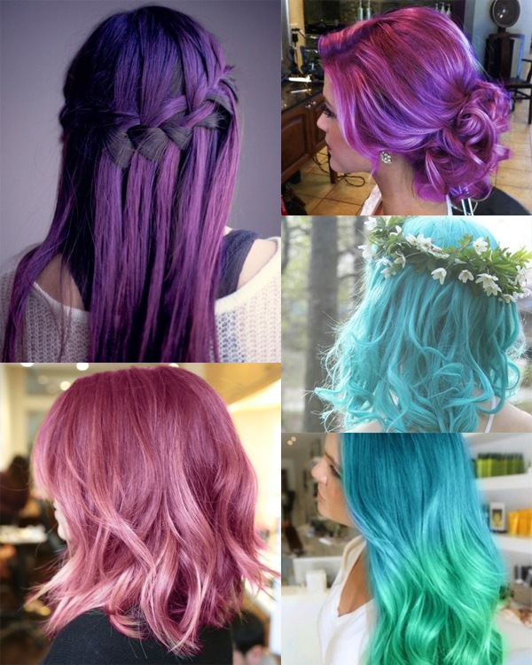 Inspiração: Cabelos Coloridos