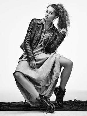 Thylane Blondeau photographiée par Dani Brubaker - FLAUNT
