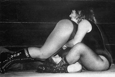 Wrestler Busty Keegan 88