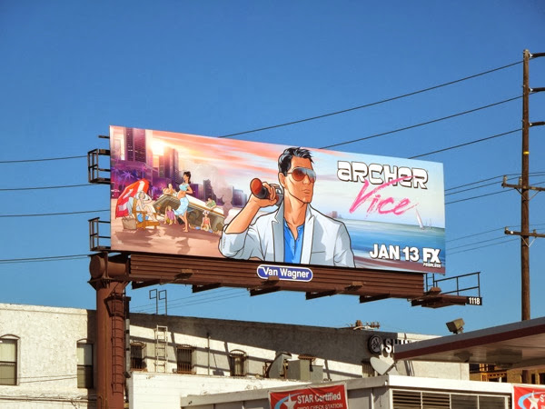 Archer: Vice season 5 billboard