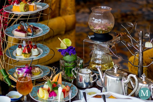 Birdie Paradise Afternoon Tea at the Lobby Lounge of Kowloon Shangri-La Hong Kong