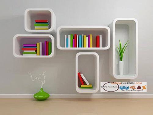 Kumpulan Gambar Rak Buku Dinding Minimalis Kreatif Dan Modern - Rak Buku Minimalis Model Gantung Dengan Bentuk Kapsul