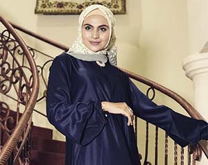 Asha Shara pemeran Mpok Wiyah / Alawiyah Dunia Terbalik RCTI