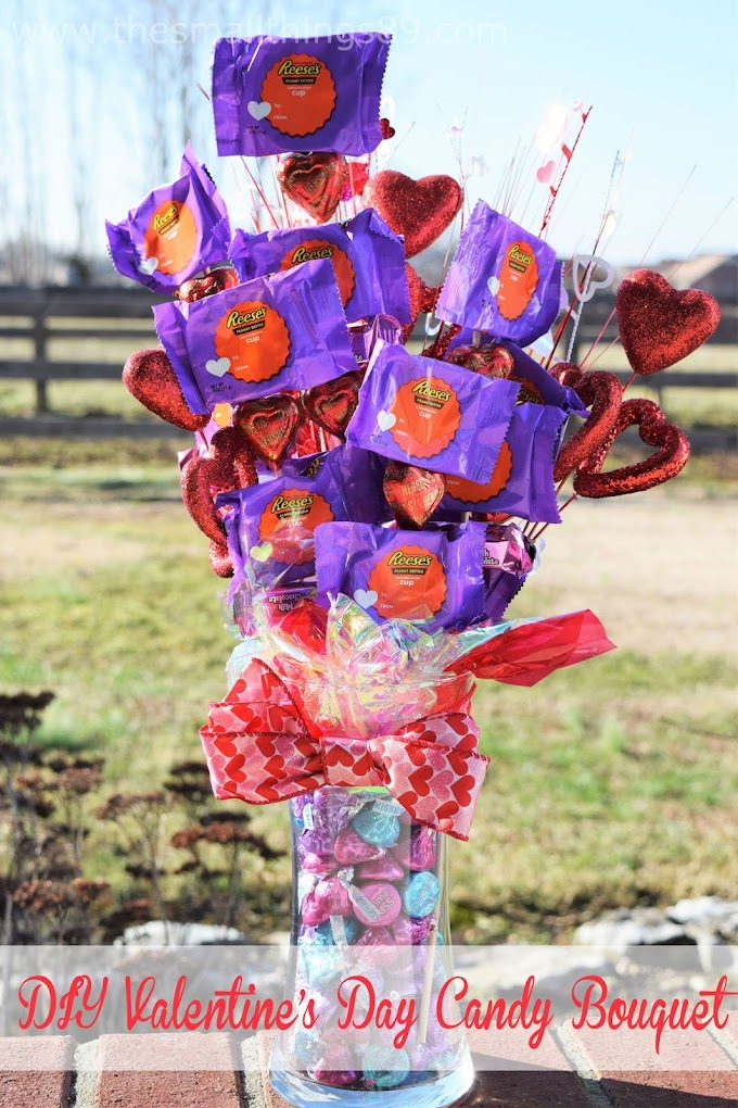 Valentine's Day Candy Bouquet- A unique gift!