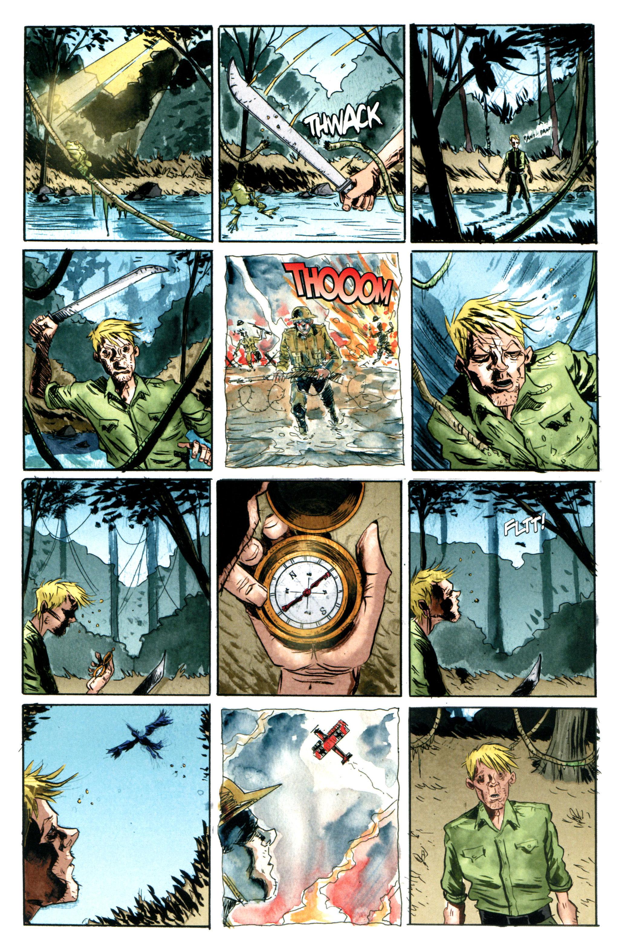 Read online Trillium comic -  Issue #1 - 2