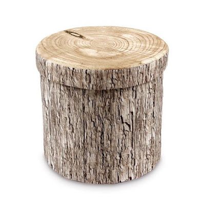 Shop the Tree Stump Pattern Folding Storage Ottoman at NileCorp.com