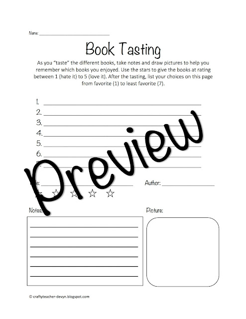 https://www.teacherspayteachers.com/Product/Book-Tasting-Literature-Circles-3256811