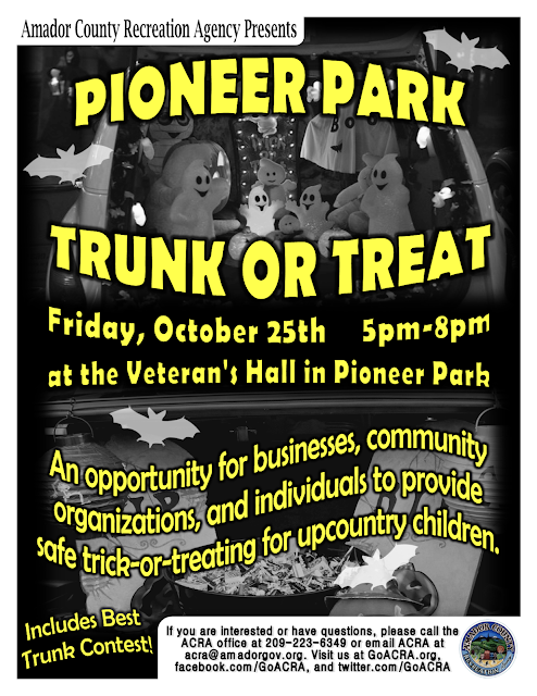 Trunk or Treat - Fri Oct 25