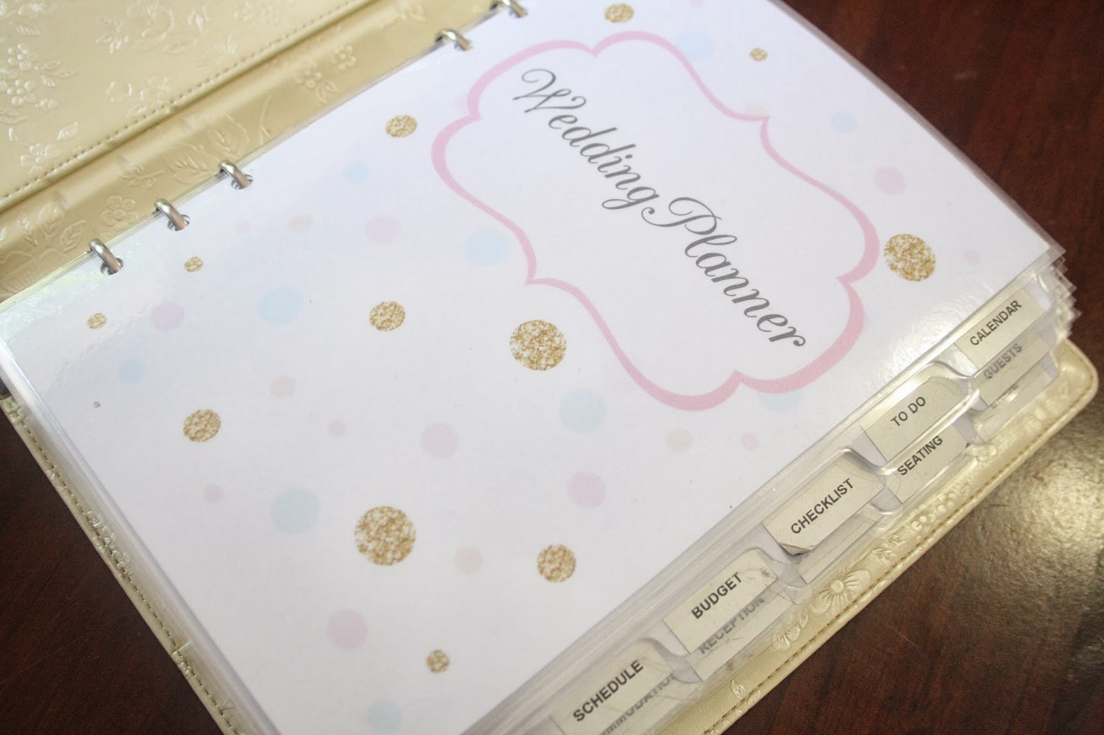 Organized Wedding Planning