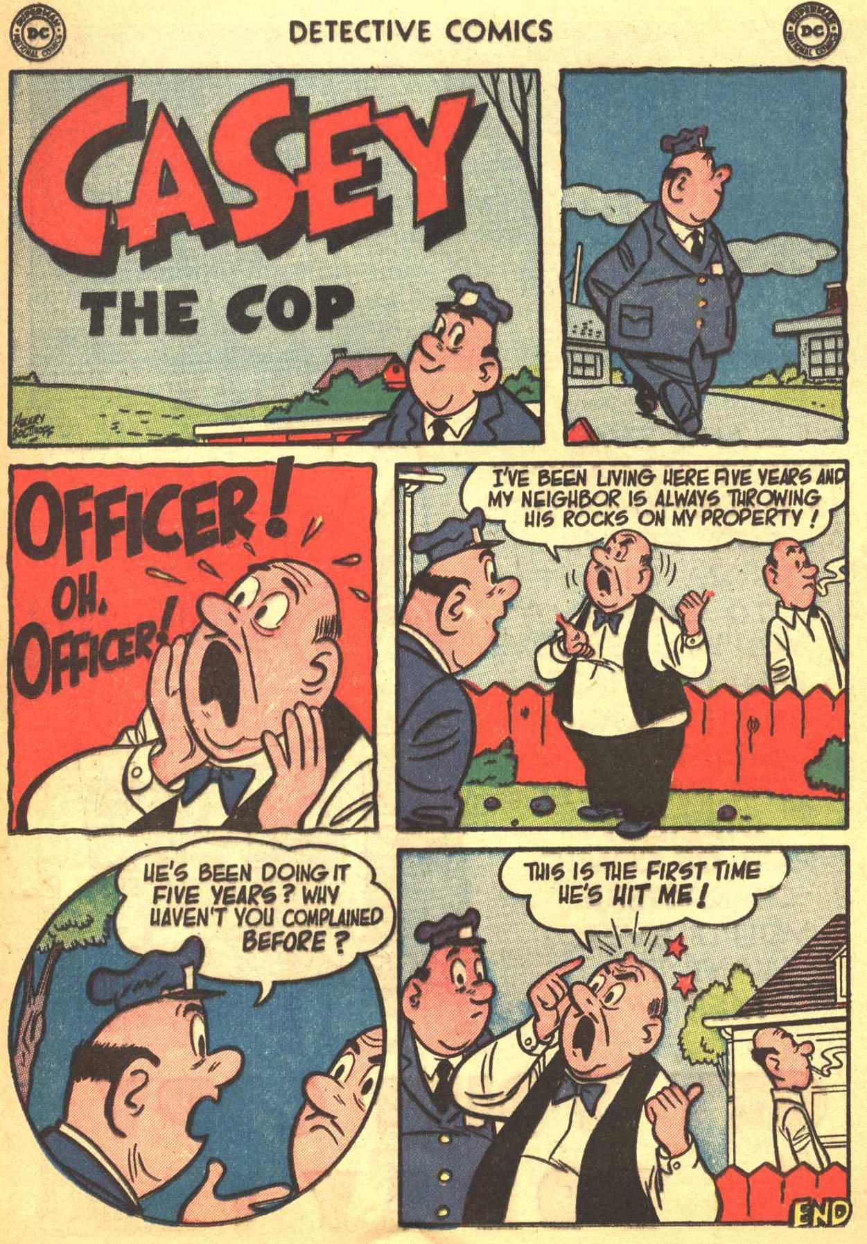 Read online Detective Comics (1937) comic -  Issue #206 - 21