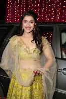 Mannara Chopra in lovely Ghagra Choli Transparent Chunni at Zee Telugu Apsara Awards 2017 12.JPG