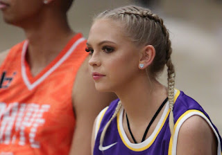 Jordyn Jones at Ace Family Celebrity Basketball