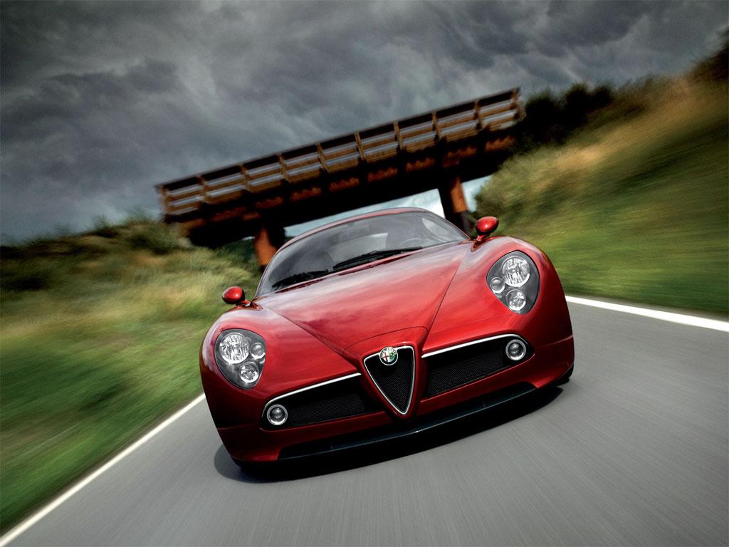 CARZ WALLPAPERS: Alfa Romeo 8c