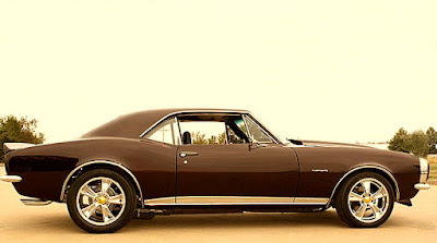 1967 Chevrolet Camaro SS Pro Touring Side Right
