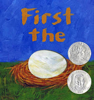Cover Image: First the Egg by Laura Vaccaro Seeger