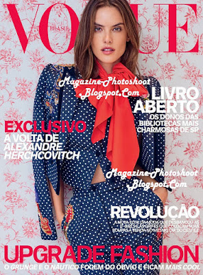 Alessandra Ambrosio, Vogue Brazil, April 2016, Magazine Cover