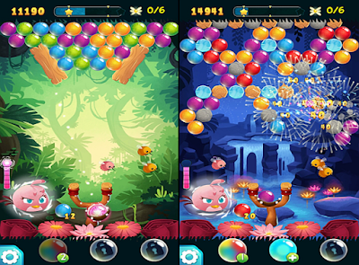 download game Angry Birds Stella POP free
