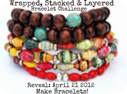 Wrapped, Stacked & Layered Bracelet Challenge