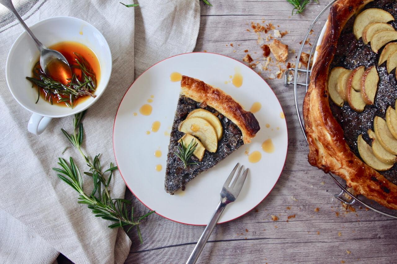 Rezepte Apfel-Mohn-Tarte