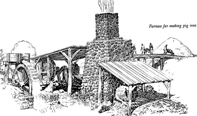 Hammered Out Bits: Early Iron Furnace in Upper Canada