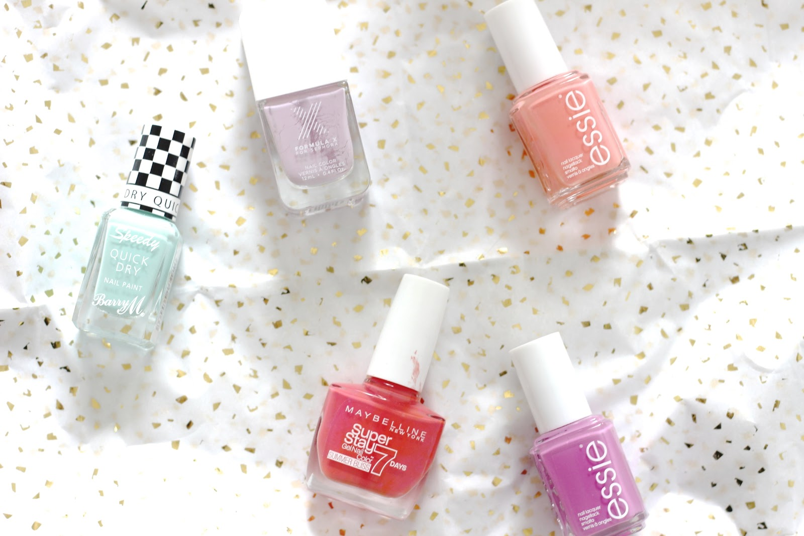 Summer Nail Polish Line Up.