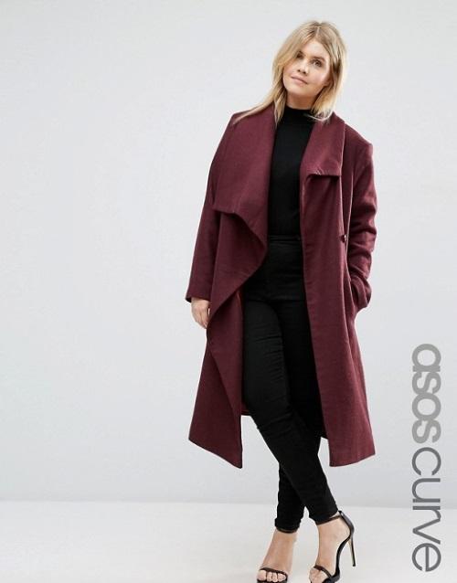 venta minorista f5058 603f3 8 abrigos de Asos para chicas curvy ¡preciosos!