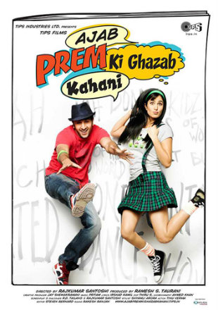 poster of Ajab Prem Ki Ghazab Kahani 2009 Full Hindi Movie Download 720p BRRip