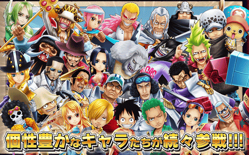 ONE PIECE Thousand Storm Mod Apk