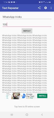 whatsapp में एक साथ बहुत सारे message  कैसे सेंड करें