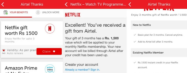 How to get free Netflix subscription with Airtel postpaid plans